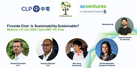 Fireside Chat: Is Sustainability Sustainable?  21 Oct 5pm HKT tickets