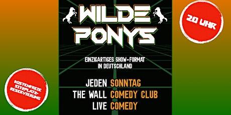 Stand-up Comedy am Sonntag • F-Hain • mit Hygienekonzept | WILDE PONYS Tickets