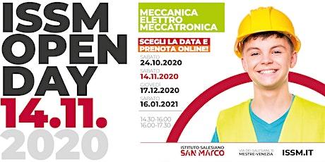 OPEN DAY / MECCANICA - ELETTRO - MECCATRONICA / 14.11.2020 biglietti
