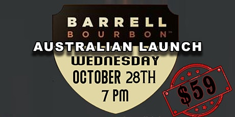Barrel Bourbon - Australia Launch Event tickets