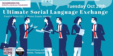 Ultimate Social Language Exchange Aperitivo! tickets