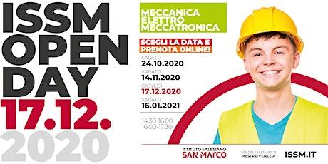 OPEN DAY / MECCANICA - ELETTRO - MECCATRONICA / 17.12.2020 biglietti