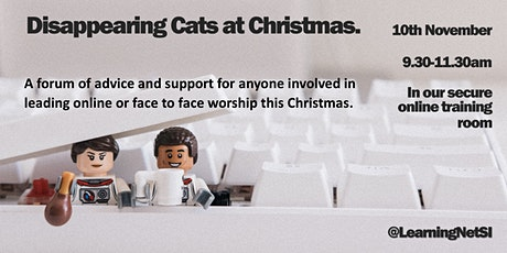 Disappearing Cats at Christmas tickets