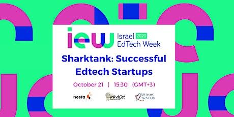 Sharktank: Successful Edtech Startups tickets