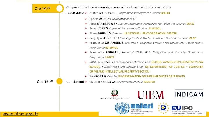 Immagine INTERNATIONAL CONFERENZE_Settimana Anticontraffazione 2020