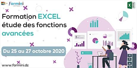 Formation EXCEL: Etude des Fonctions Avancées -oct billets