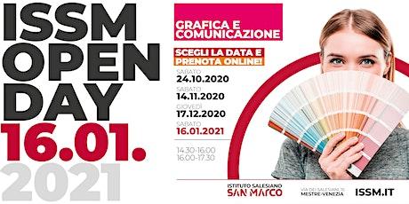 OPEN DAY / GRAFICA E COMUNICAZIONE / 16.01.2021 biglietti
