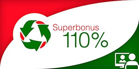 Webconference - Superbonus 110%: cessione del credito e CAM biglietti