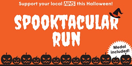 RD&E Charity's Spooktacular Virtual Run tickets