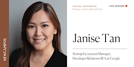 Virtual Mentoring | Power Ladies Breakfast with Janise Tan tickets