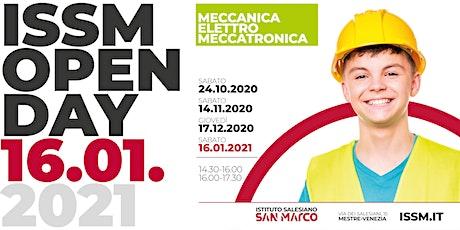 OPEN DAY / MECCANICA - ELETTRO - MECCATRONICA / 16.01.2021 biglietti