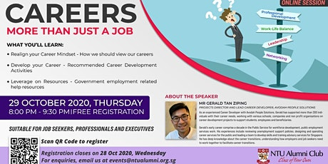 Careers - More Than Just A Job tickets