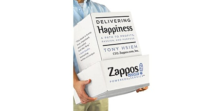 Book Review & Discussion : Delivering Happiness tickets