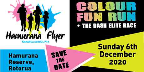 2020 Hamurana Flyer- 5 km Bayleys DASH & Badgers Colour Fun Run tickets