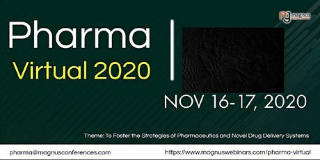 3rd Edition of Pharma Virtual 2020 tickets