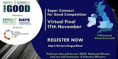 Super Connect  for Good 2020 Competition – Virtual Final