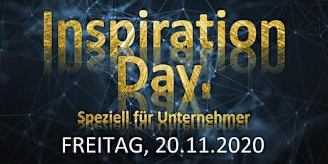 INSPIRATIONDAY  - Speziell für Unternehmer Tickets