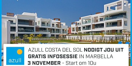 Azull infosessie Marbella - dinsdag 3 november  - 10.00u tickets
