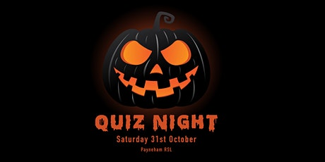 Halloween Quiz Night tickets
