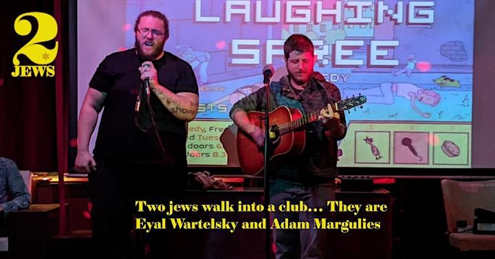 English Stand Up - Propaganda Comedy #2.03 - TWO JEWS  *Vienna image