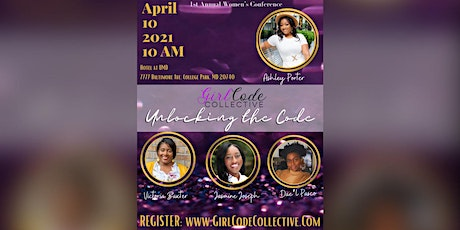 Unlocking the Code, women's conference tickets