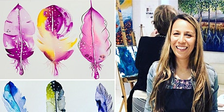 Relax with Water Colour Feathers tickets