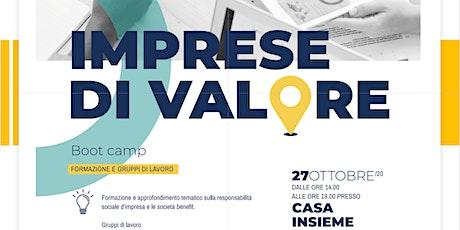 RINVIATO - Imprese di Valore - Bootcamp biglietti