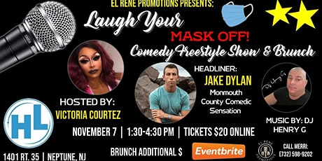 Laugh Your Mask Off Comedy  Freestyle Show & Brunch tickets