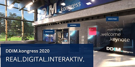 DDIM.kongress // 2020 digital Tickets