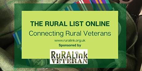 THE RURAL LIST ONLINE tickets