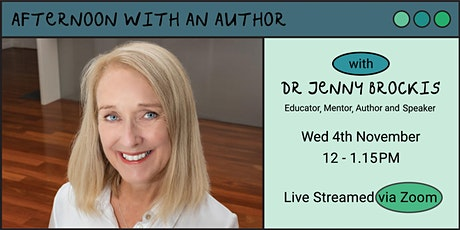 Afternoon with an Author with Dr Jenny Brockis tickets