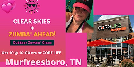 Outdoor Zumba Class with Gina at CoreLife in M'Boro tickets