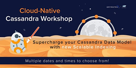 Workshop: Supercharge your Cassandra Data Model with new scalable indexing tickets