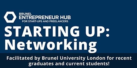 STARTING UP: Networking tickets