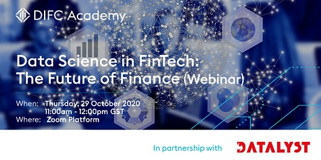 Data Science in FinTech: The future of finance tickets
