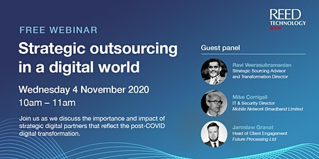 Strategic outsourcing in a digital world tickets