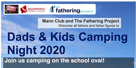 Mann Club 2020 Dads and Kids Camping Night tickets