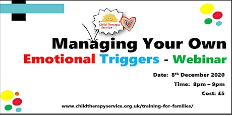Managing Your Own Emotional Triggers - Webinar tickets