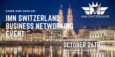IMN Switzerland Business Networking in October tickets