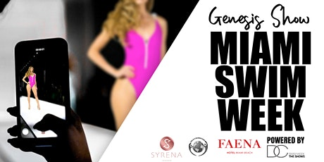 Miami Swim Week 2020 - The Genesis Show tickets