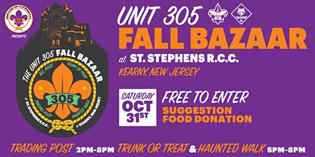 The Unit 305 Fall BAZAAR tickets