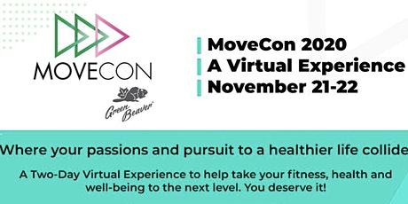 MoveCon 2020 -  A virtual conference for healthy living and personal growth tickets