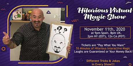 The 11-11 Virtual Magic Show tickets