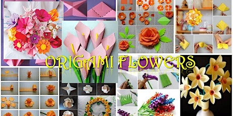Holmfirth WI Virtual Origami Flowers with Jessica tickets