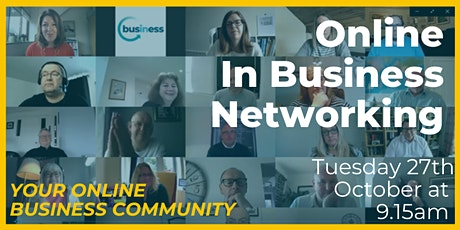 Online In Business Networking Event tickets