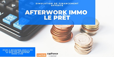 Afterwork immo : le prêt billets