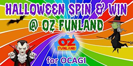 Halloween Spin & Win for OCAGI at Oz Funland (Oct) tickets