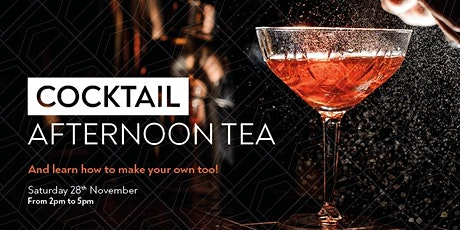 Afternoon Tea with Cocktails tickets