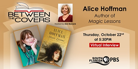 Between The Covers Virtual Interview with Alice Hoffman tickets