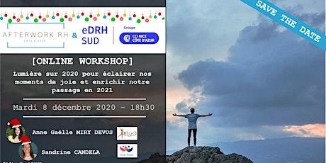 AW RH Côte d'Azur - 8 décembre - Lumière sur 2020 et passage en 2021 billets